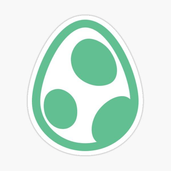 Little Green Egg Sticker
