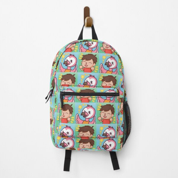 albertsstuff flamingo panel Backpack