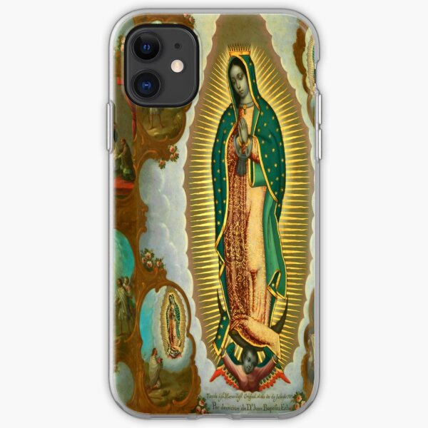 La Guadalupana | Virgin of Guadalupe | On view at The Met Gallery 749  iPhone Soft Case