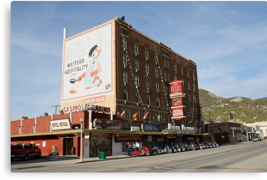 Hotel Nevada,Ely Nevada USA by Anthony & Nancy  Leake