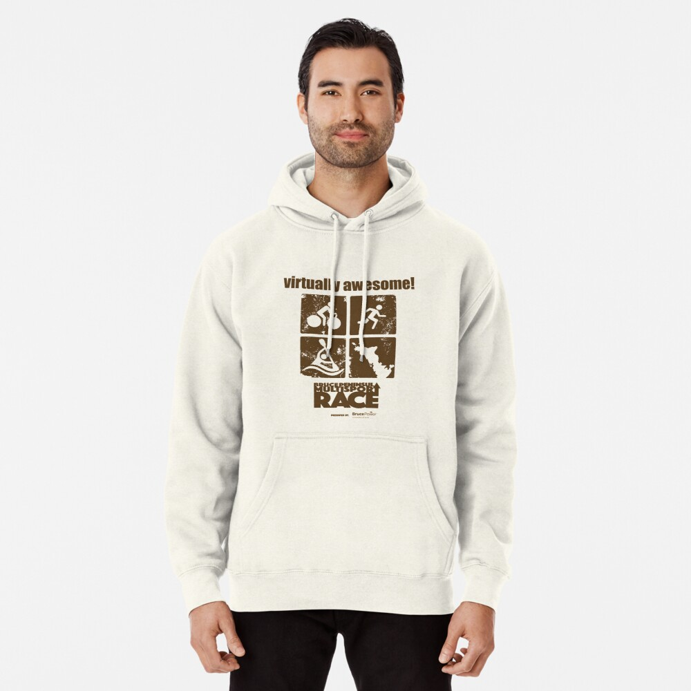 Virtually Awesome BPMR T-shirt Pullover Hoodie