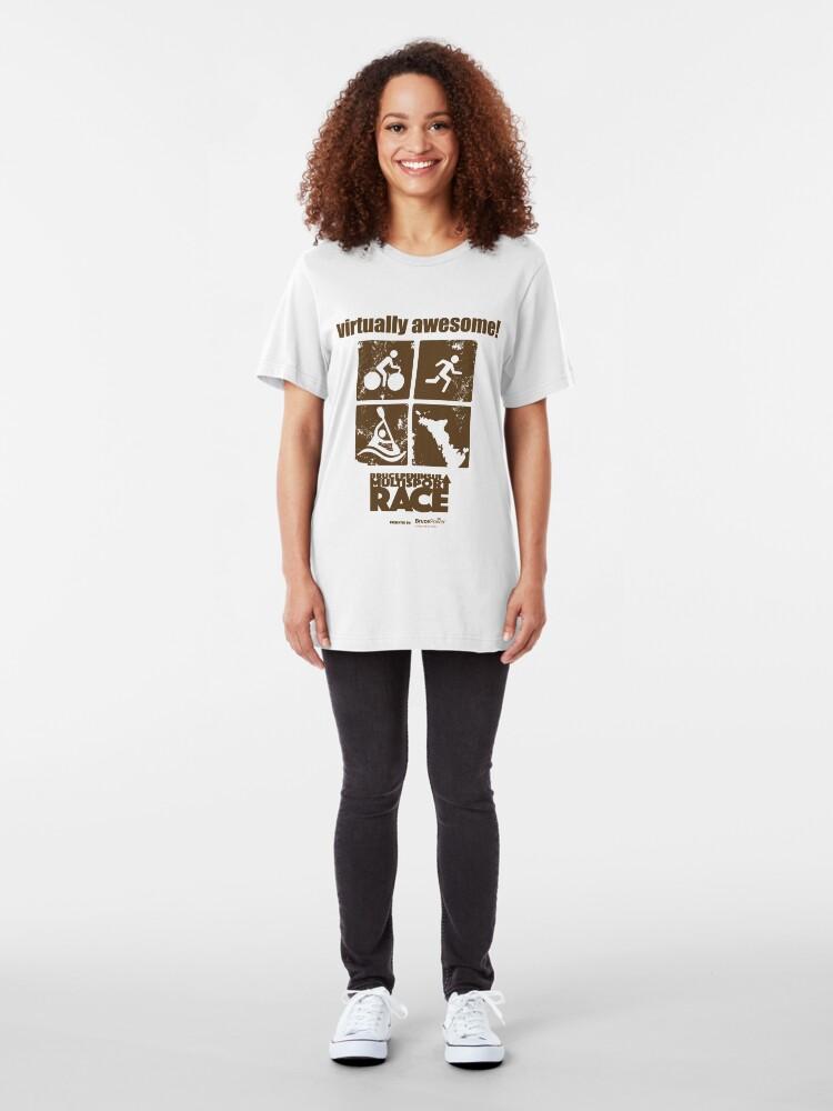 Alternate view of Virtually Awesome BPMR T-shirt Slim Fit T-Shirt