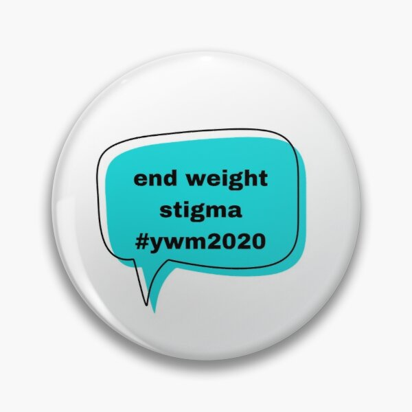 end weight stigma quote (lowercase) ywm  Pin