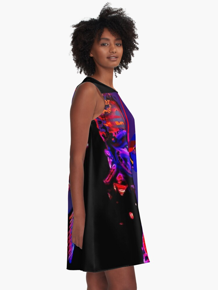 Alternate view of TRIBAL AFRICA A-Line Dress