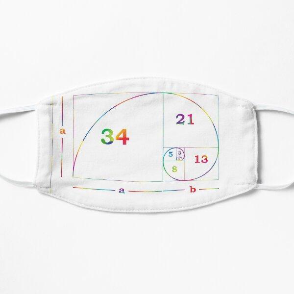 #Golden #Ratio #GoldenRatio #Design Ideas Fibonacci Spiral = 1.6180339887498948420 Flat Mask