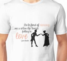 Jane Austen Quote - Dancing Unisex T-Shirt