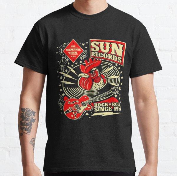 rock & roll depuis 1952 chemises et masque facial T-shirt classique