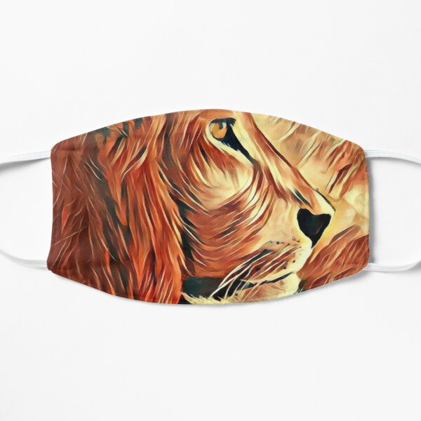 Lion King of Beasts Flat Mask