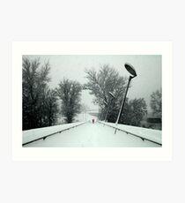 Winter classic Art Print