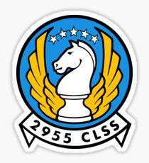 2955 CLSS - Air Force Sticker