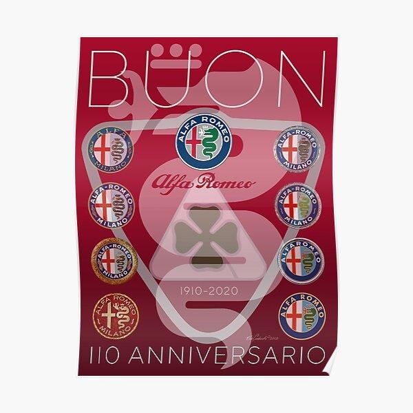 Alfa Romeo 110. Jahrestag-2020 Poster