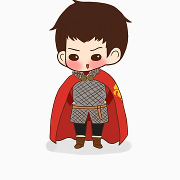 Knight!Merlin by lilybells36