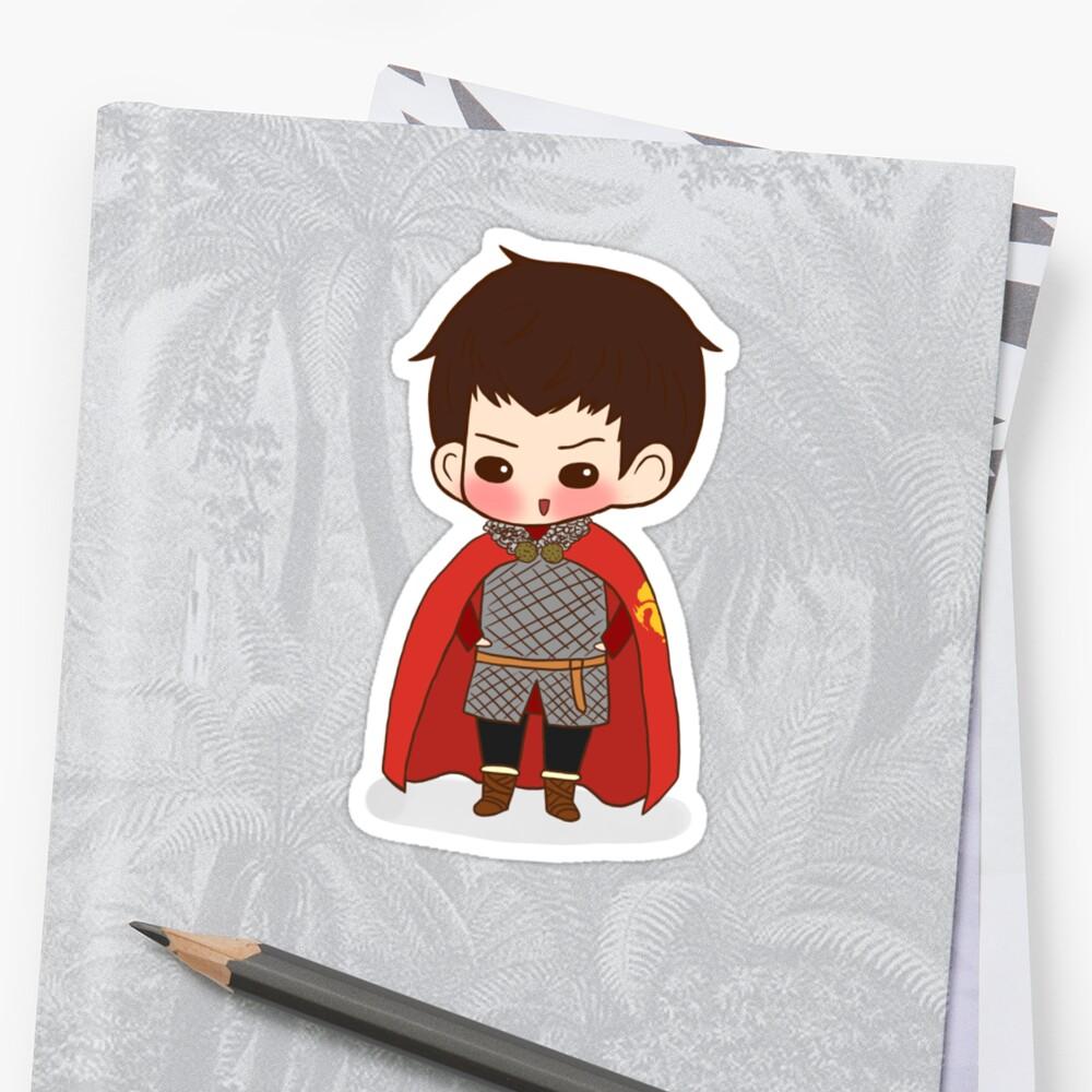 Knight!Merlin by lilybells36