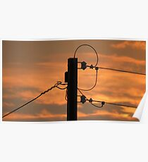 Power Pole Poster
