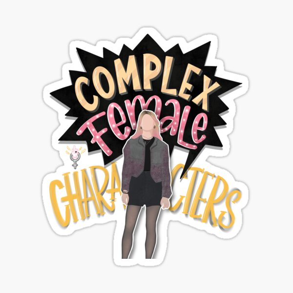 the most complex female character - maeve wiley Sticker