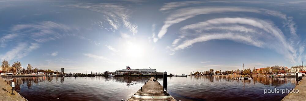 Way to the Stockholm. Riga, Latvia by paulsrphoto