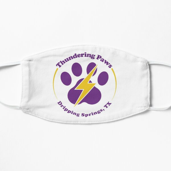 Thundering Paws Logo Mask
