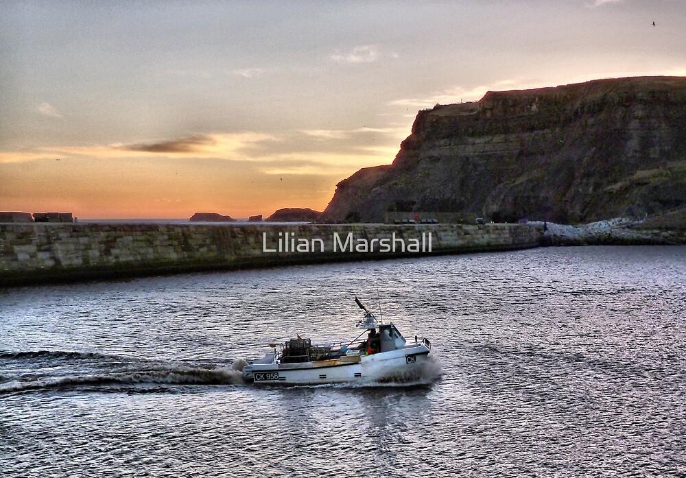 Returning at Sunrise. by Lilian Marshall