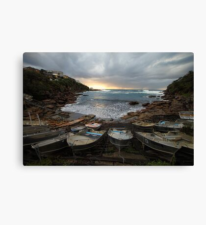 Gordon's Bay, Clovelly Canvas Print