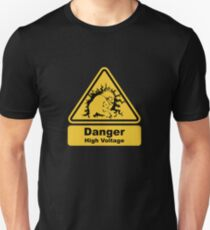 Blanka High Voltage Road Sign from Street Fighter Unisex T-Shirt
