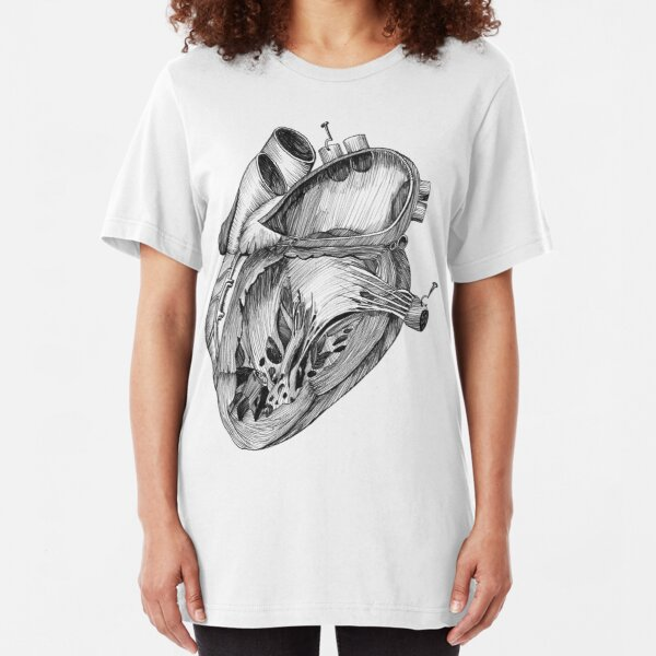 Heart Slim Fit T-Shirt
