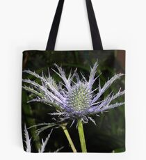 sea holly - close up Tote Bag