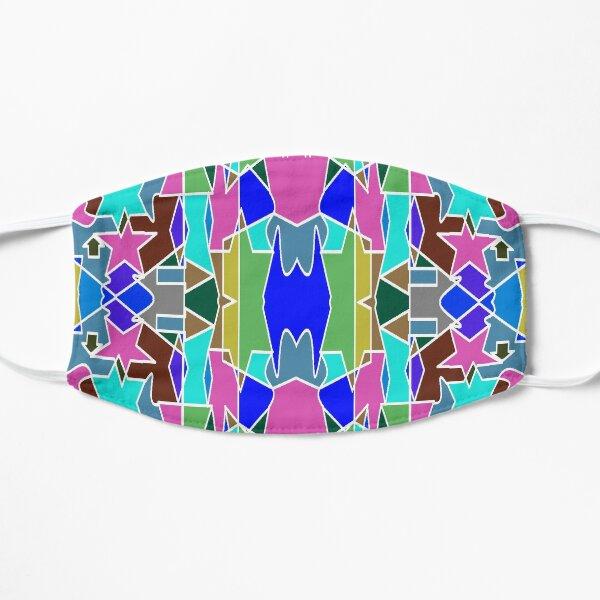 Motif, Visual arts - пестрый, motley, variegated, mottled, pied, checkered, patchwork, разноцветный Flat Mask