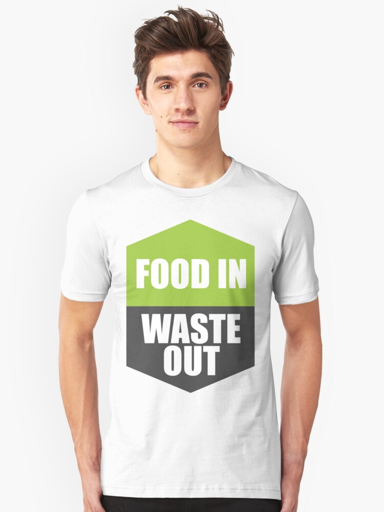 FOOD IN WASTE OUT by arty-farty