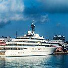 Abramovich Luxry Yatch Eclispe Bermuda.. by buddybetsy