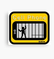 Cell phone Canvas Print