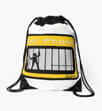 Cell phone Drawstring Bag
