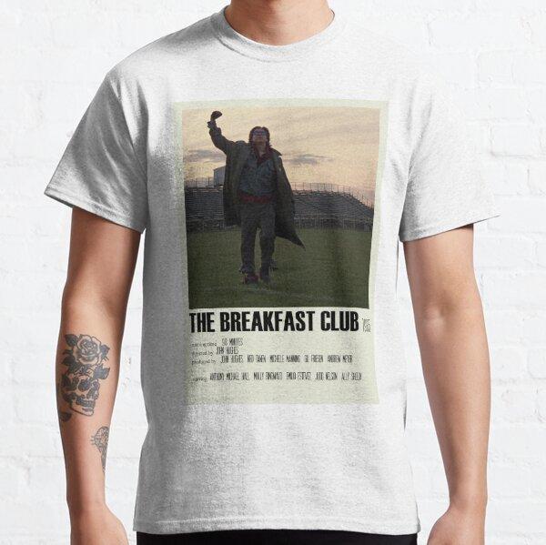The Breakfast Club Alternative Poster Art Movie Large (1) Classic T-Shirt