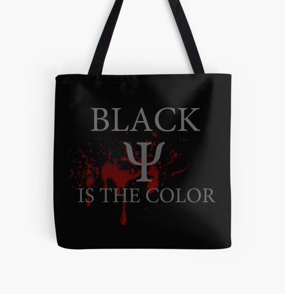 The Darkest Minds -- Black is the Color All Over Print Tote Bag