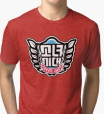 SNSD: I Got A Boy - Emblem(Leaves Ver.) Tri-blend T-Shirt
