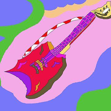 guitar by ArtNaive
