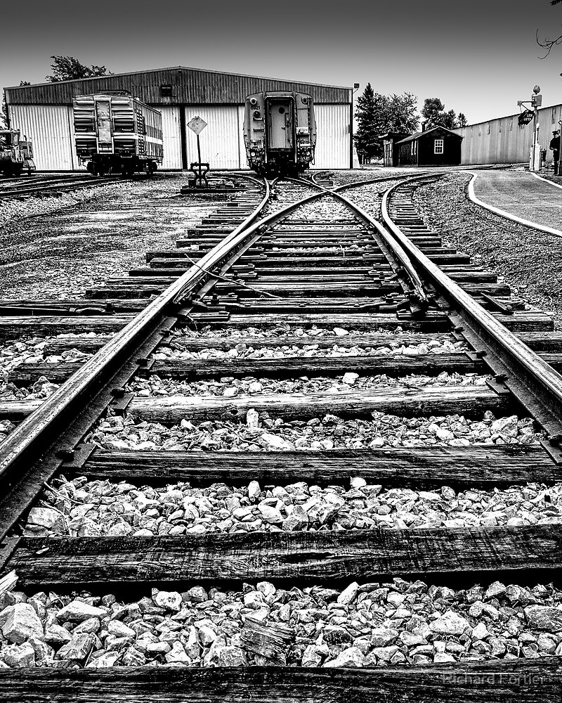 The end of the line by Richard Fortier
