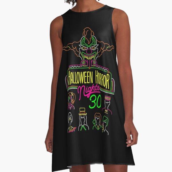 30 years of Halloween Horror Nights  A-Line Dress