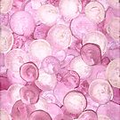 SPHERICAL PINK ON CANVAS by karen66