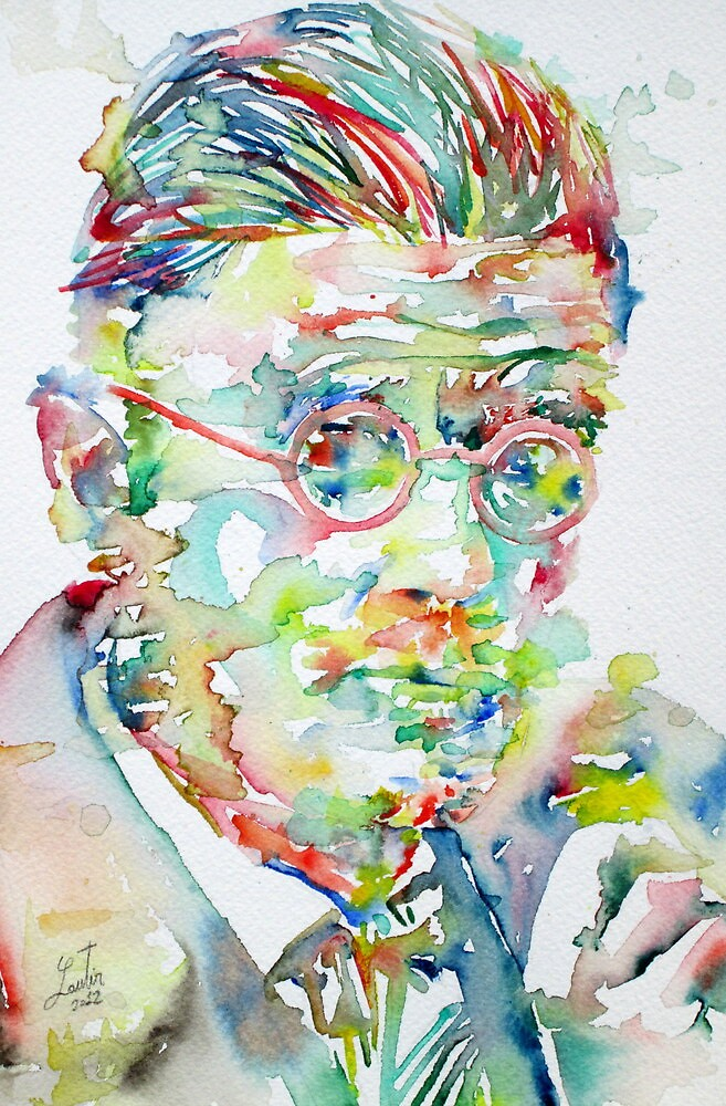 JAMES JOYCE portrait.1 by lautir
