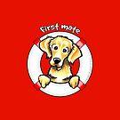 Golden Retriever :: First Mate by offleashart