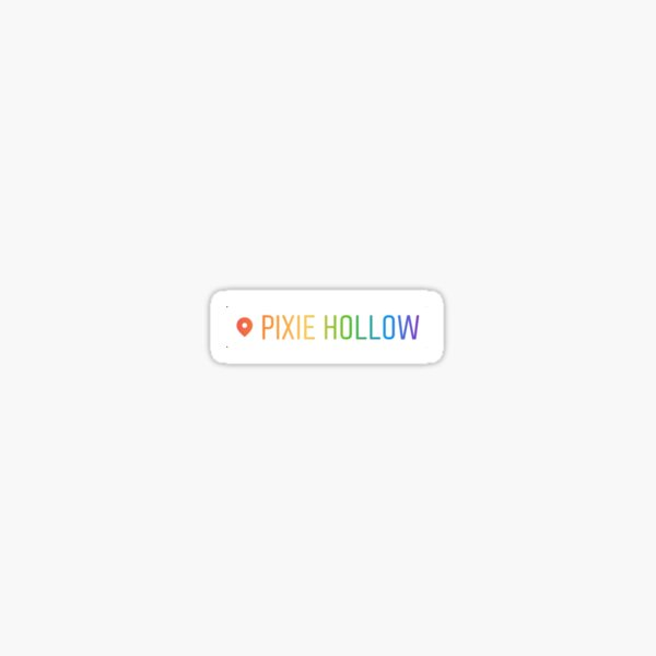 Pixie Hollow Sticker