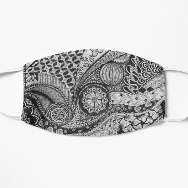 Zentangle®-Inspired Art - ZIA 34 Flat Mask