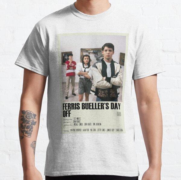 Ferris Bueller's Day Off Alternative Poster Art Movie Large (2) Classic T-Shirt