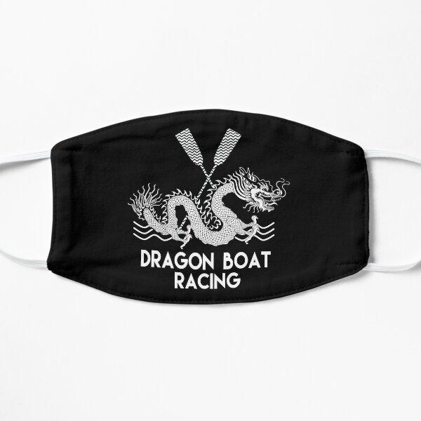 Black White Dragon Boat Racing Mask
