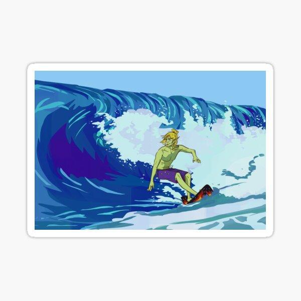 Taako Surfin' Sticker