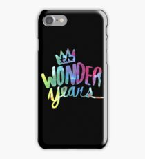 The Wonder Years iPhone Case/Skin