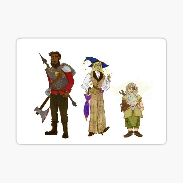 Magnus, Taako and Merle Sticker
