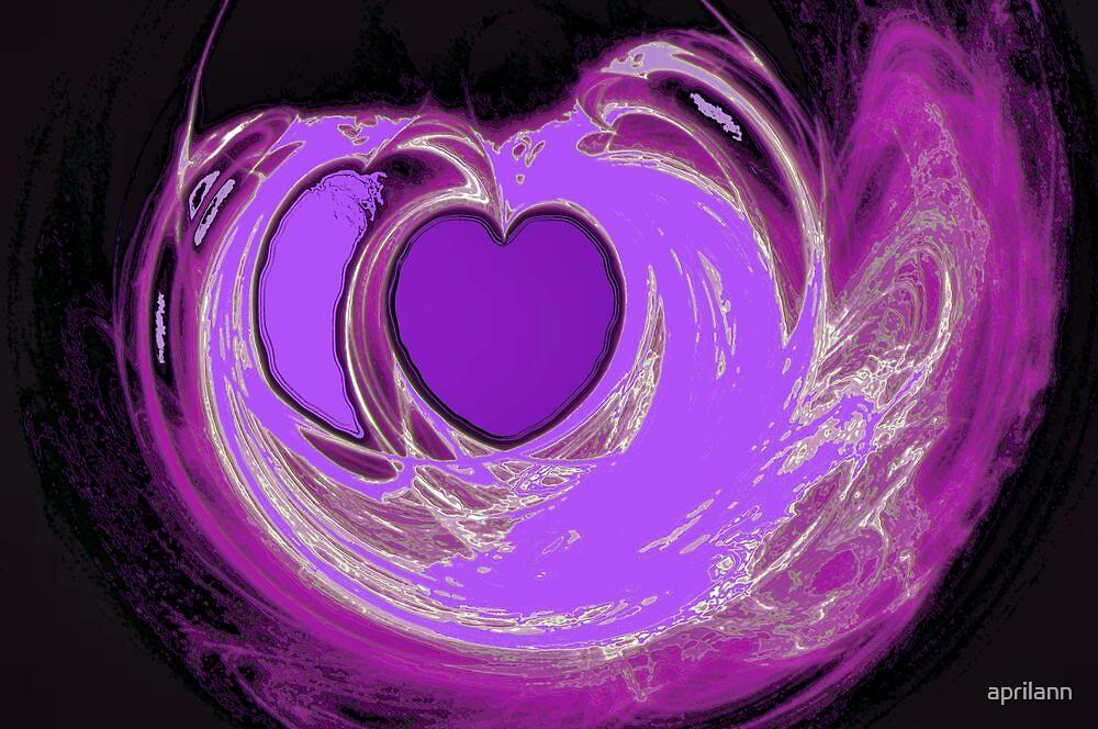 Lavender Heart by aprilann