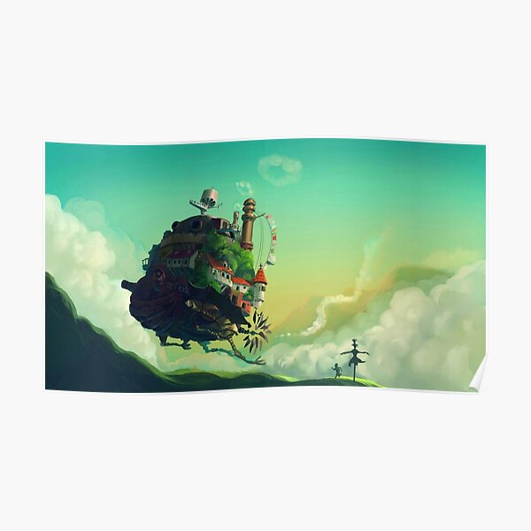 Howl's Moving Castle 10 Poster