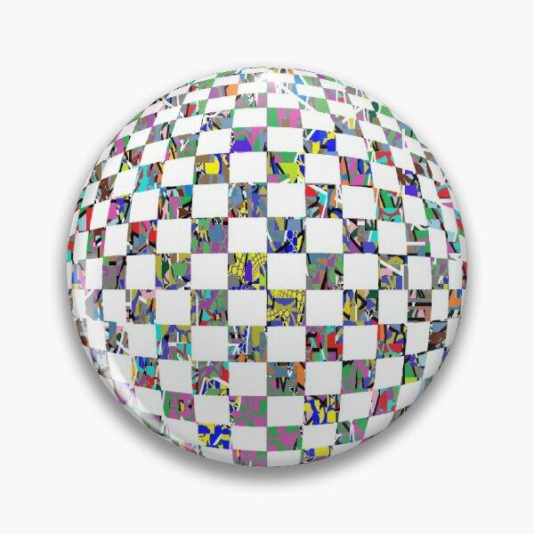 Op art whirlpool - пестрый, motley, variegated, mottled, pied, checkered, patchwork, разноцветный Pin